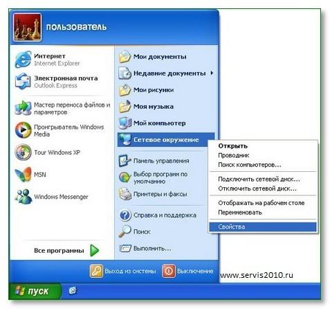 σύνδεση των Windows XP με το Internet ψευδώνυμο για την ιστοσελίδα dating